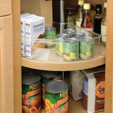 extra kitchen storage lazy Susan