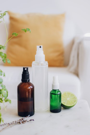 3 Ways to Make DIY upholstery spray cleaners