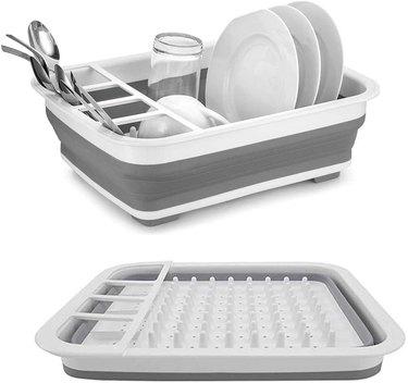 fold down dish rack