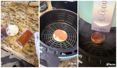 lunchables pizza air fryer tiktok hack