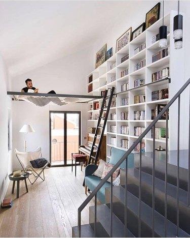bookcase hammock by egue y seta