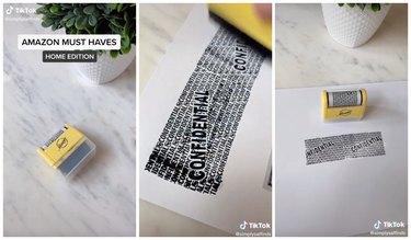 Miseyo Wide Roller Identity Theft Stamp tiktok