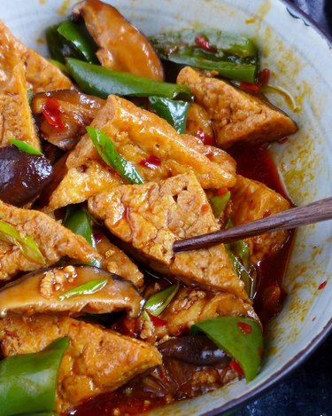 Red House Spice Sichuan Style Braised Tofu