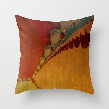 society6 Southwestern Sunset 2 Throw Pillow