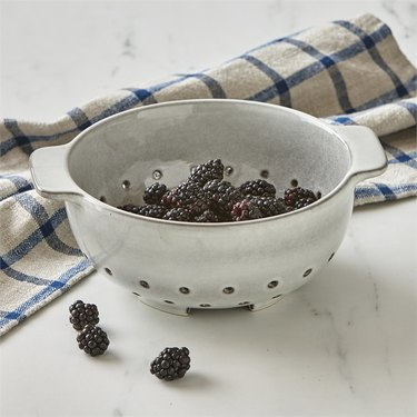 Colander With Berries In It