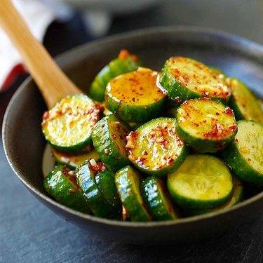 Rasa Malaysia Asian Cucumber Salad