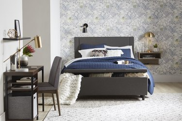 stylish guest bedroom