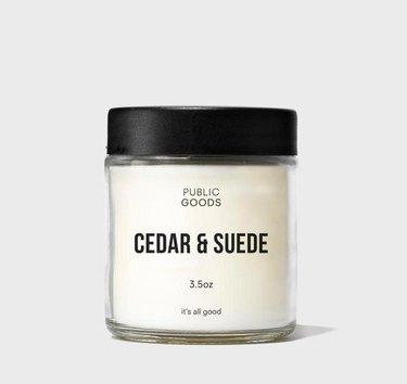 public goods nontoxic candle