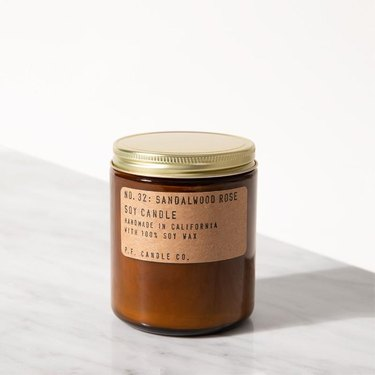p.f. candle co. nontoxic candle