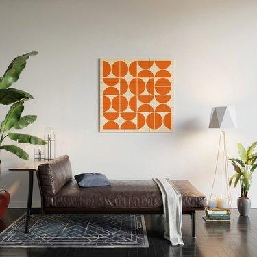 society6 wall art midcentury modern decor