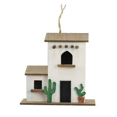 Pueblo style birdhouse