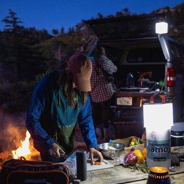 solar powered camping gear
