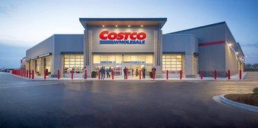 costco warehouse storefront