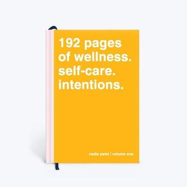 hardcover wellness diary