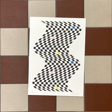 Studio KJP Riso Wiggle Print