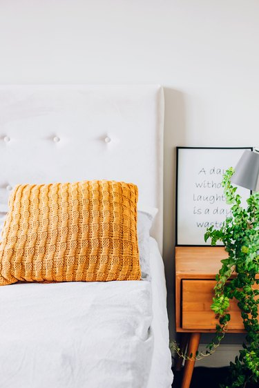 Clean the guest room to prepare for the arrival of a new baby