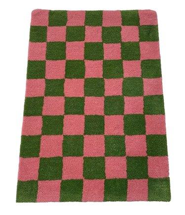 Relic Home Checkered Rug