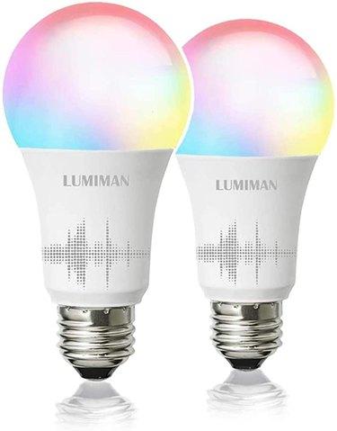 color changing smart LED light bulbs