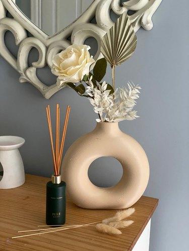 3D printed donut vase
