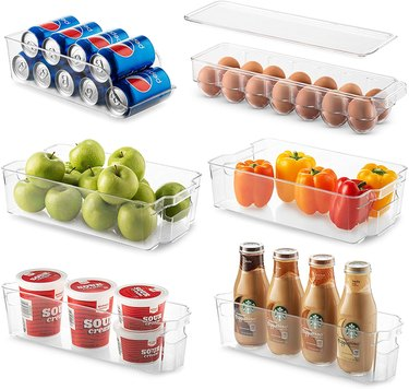 fridge organizers meal prep essentials