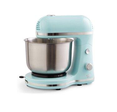 Light blue stand mixer