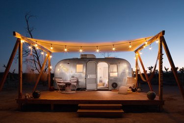 airstream with patio