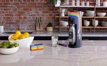 sodastream pride sparkling water maker