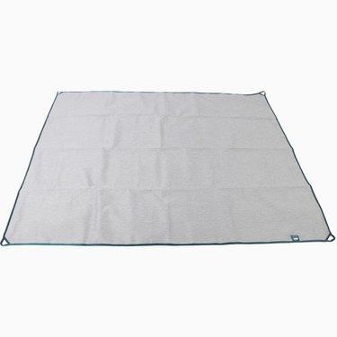 gray picnic blanket