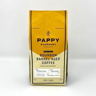 Pappy Van Winkle bourbon barrel aged coffee