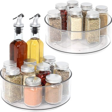 amazon prime day kitchen and pantry organizer deals lazy susan set