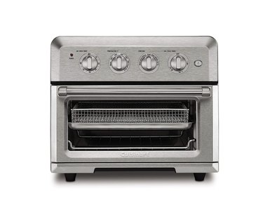 Metal toaster oven and air fryer