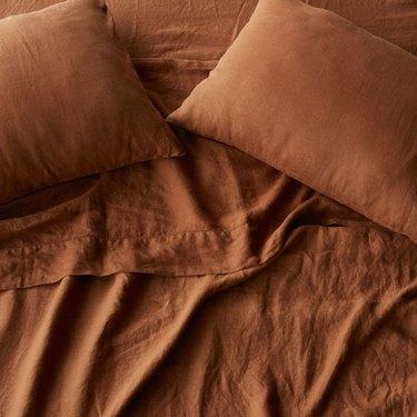 the citizenry stonewashed linen sheet set