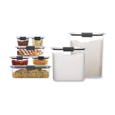amazon prime day kitchen and pantry organizer deals rubbermaid storage