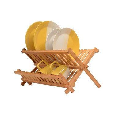 amazon prime day kitchen and pantry organizer deals bamboo drying rack