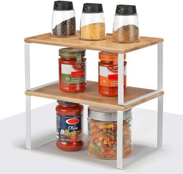 amazon prime day kitchen and pantry organizer deals shelf organizers