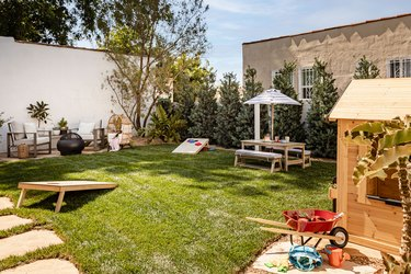 backyard for kids and adults