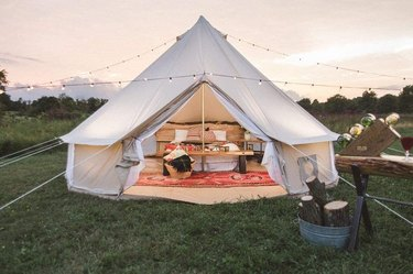 Dream House Outdoor Waterproof Camping Bell Tent