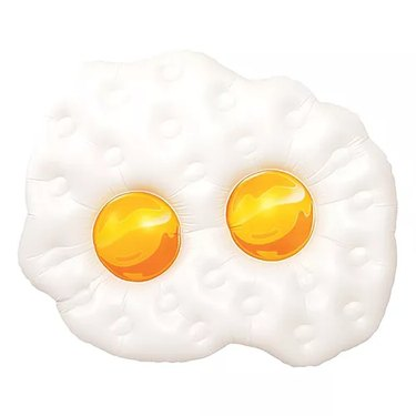 Party City Fried Eggs Pool Float