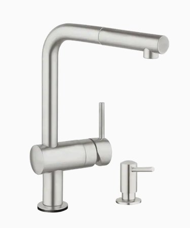 Minta Supersteel 1-Hand Pull-Out Touch Kitchen Faucet