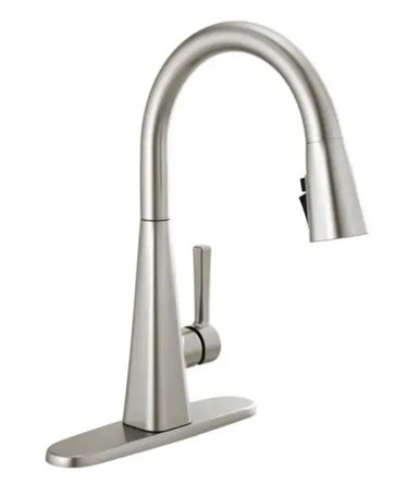 Lenta Touch Single-Handle Pull-Down Kitchen Faucet with ShieldSpray in Stainless