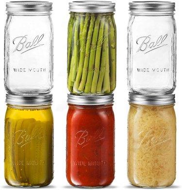 ball mason jar best food storage