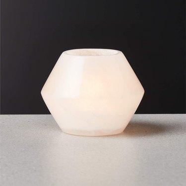Steve Alabaster Tea Light Candle