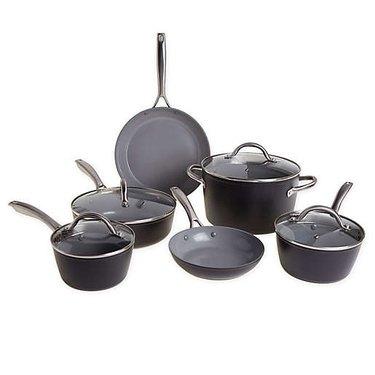 Set of 10 Ceramic Pans