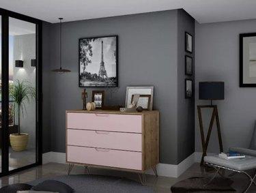 Pink Rockefeller Dresser