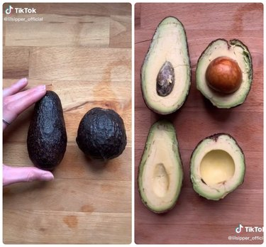 Longer avocados have smaller pits