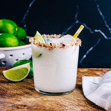 A Couple Cooks Creamy Coconut Margarita