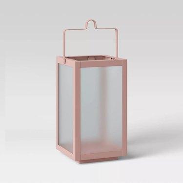 target pink tabletop lantern