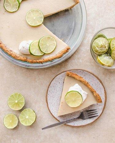 From My Bowl Vegan Key Lime Pie