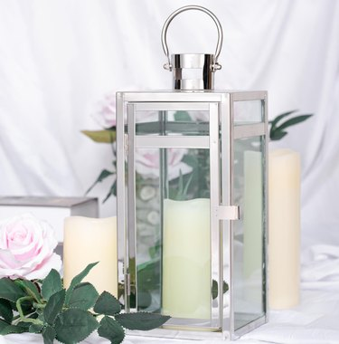 walmart stainless steel tabletop lantern