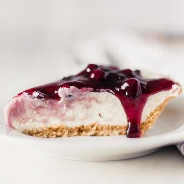 Simply LaKita No-Bake Blueberry Cheesecake